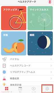 iPhone,ヘルスケア,使いこなす,画像